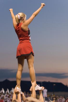 How to Tumble   Cheerleading - YouTube